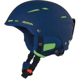 Alpina, Biom ski helmet helm navy matt  Blauw