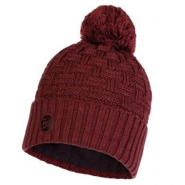 Buff, Airon Knitted and Polar Hat muts maroon Bordeaux