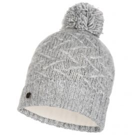 Buff, Ebba Knitted & Polar hat, muts, cloud grijs
