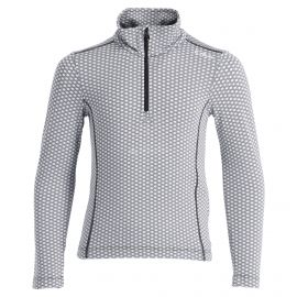 CMP, Half zip shirt pattern, skipully, kinderen, chiaccio zwart
