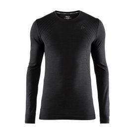 Craft, Fuseknit comfort RN LS thermoshirt heren Zwart