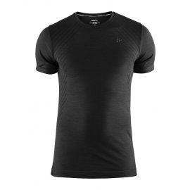 Craft, Fuseknit comfort RN SS, thermoshirt, heren, zwart