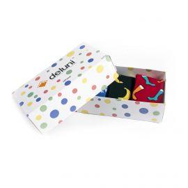 Deluni, Socks in a Box Joyride Mix (giftbox), skisokken, multicolor