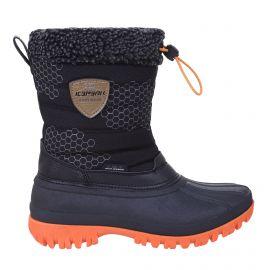 Icepeak, Atka JR, snowboots, kinderen, zwart