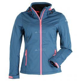 Icepeak, Boise softshell ski-jas dames Blauw