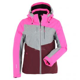 Icepeak, Calion, ski-jas, dames, grijs/roze
