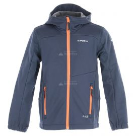 Icepeak, Laurens JR softshell ski-jas kinderen dark Blauw