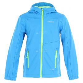 Icepeak, Laurens JR softshell ski-jas kinderen light Blauw
