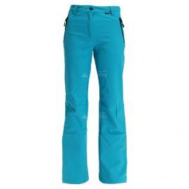 Icepeak, Riksu, softshell skibroek, dames, tourquoise blauw