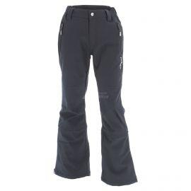 Icepeak, Ripa JR, softshell skibroek, kinderen, zwart