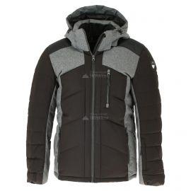 Icepeak, Verdun, ski-jas, heren, lead grijs