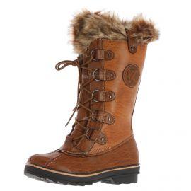 Kimberfeel, Beverly, snowboots, dames, chocolat bruin