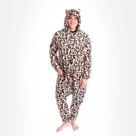 KnowHow, Onesie accessoires Leopard Bruin