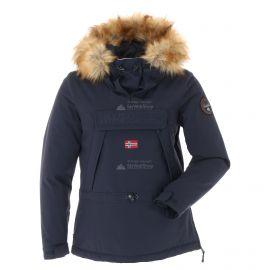 Napapijri, Skidoo anorak, ski-jas, dames, marine blauw