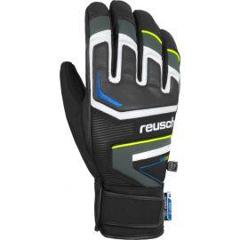 Reusch, Thunder R-tex, handschoenen, heren, dark granite grijs/safety geel