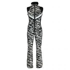 Sportalm, ski overall, dames, zwart/wit