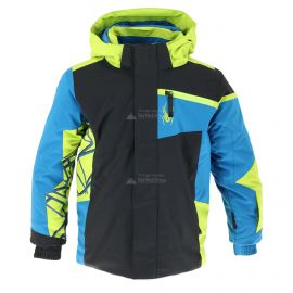 Spyder, Challenger, ski-jas, kinderen, zwart
