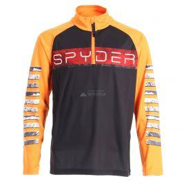 Spyder, Limitless peak zip T-neck, skipully, kinderen, zwart