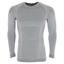 Spyder, Momentum baselayer top, thermoshirt, heren, alloy grijs
