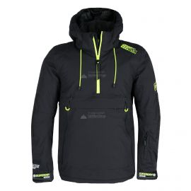 Superdry, SD Mountain Overhead Jacket, ski-jas, heren, onyx zwart