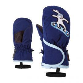 Ziener, Lollo AS Minis, skiwanten, kinderen, estate blauw