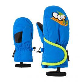 Ziener, Lollo AS Minis, skiwanten, kinderen, persian blauw