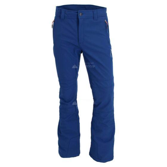 Icepeak, Otso, softshell skibroek, heren, ultra marine blauw