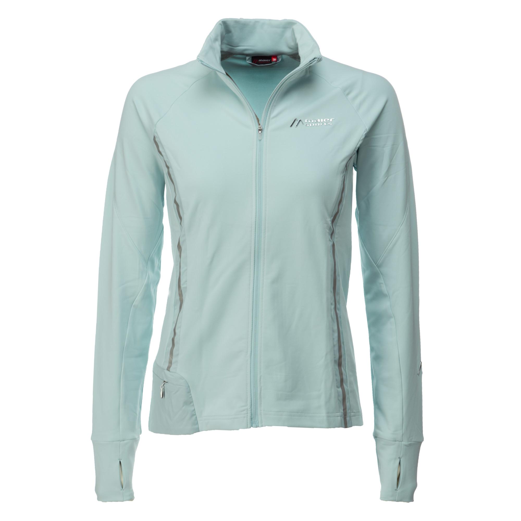 fc462758d48169 Maier Sports, Gonda, ski vest dames, plus size, winter sky - blauw ...